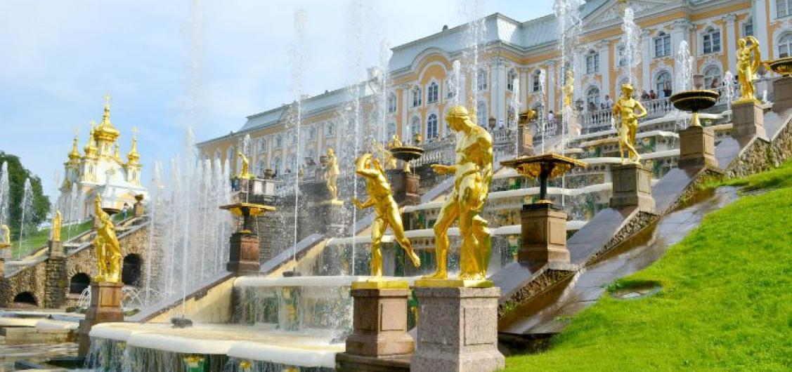 Trip to Peterhof with Entrances to the Lower Park and Bath Cottage